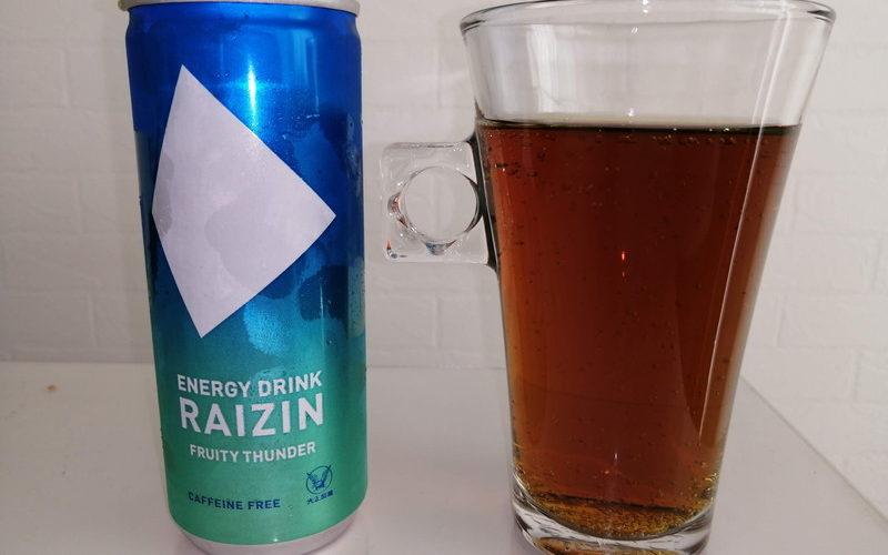 【ライジン フルーティーサンダー レビュー】カフェインゼロで後味スッキリだから飲みやすい!